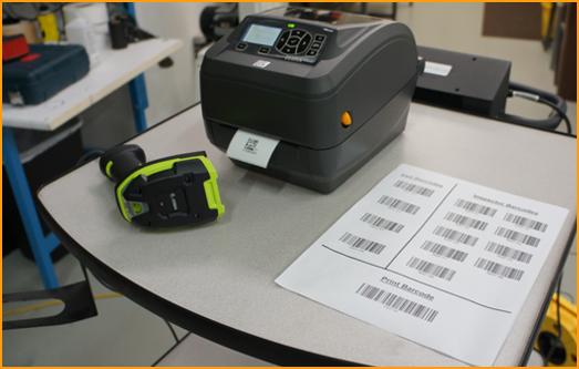 Barcode hardware